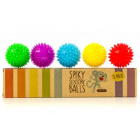 Monkey Spiky Sensory Balls (Set of 5)