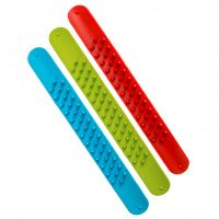 Monkey Spiky Slap Bracelets (Set of 3)