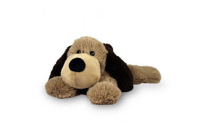 Warmies Lavender Scented Brown Dog