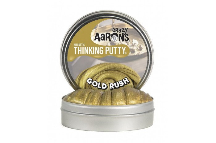 Gold Rush Magnetic Thinking Putty
