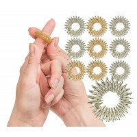 Spiky Sensory Finger Rings (10 Pack)