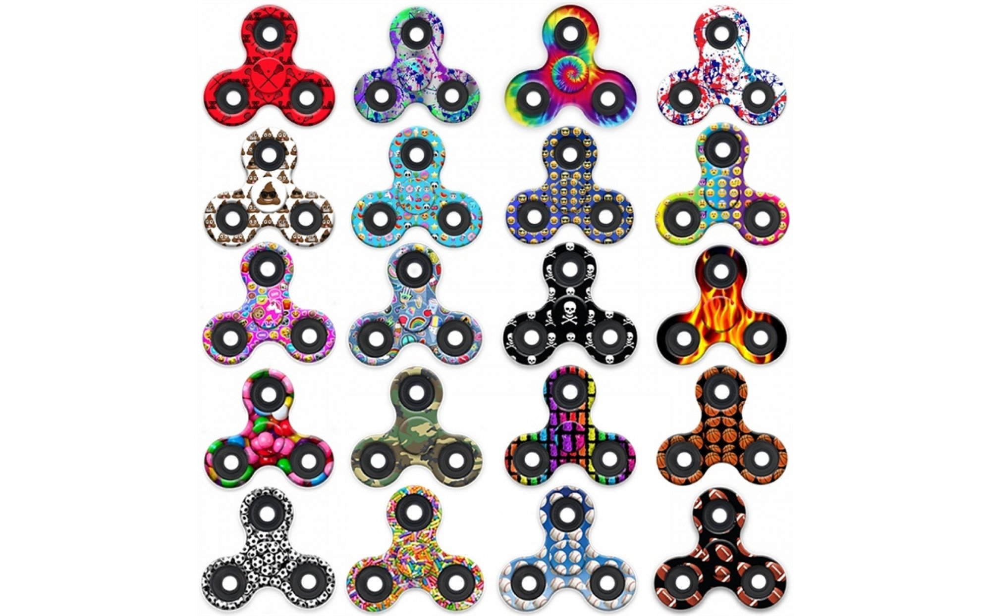 Patterned Fidget Spinner Interesting Decorating Ideas