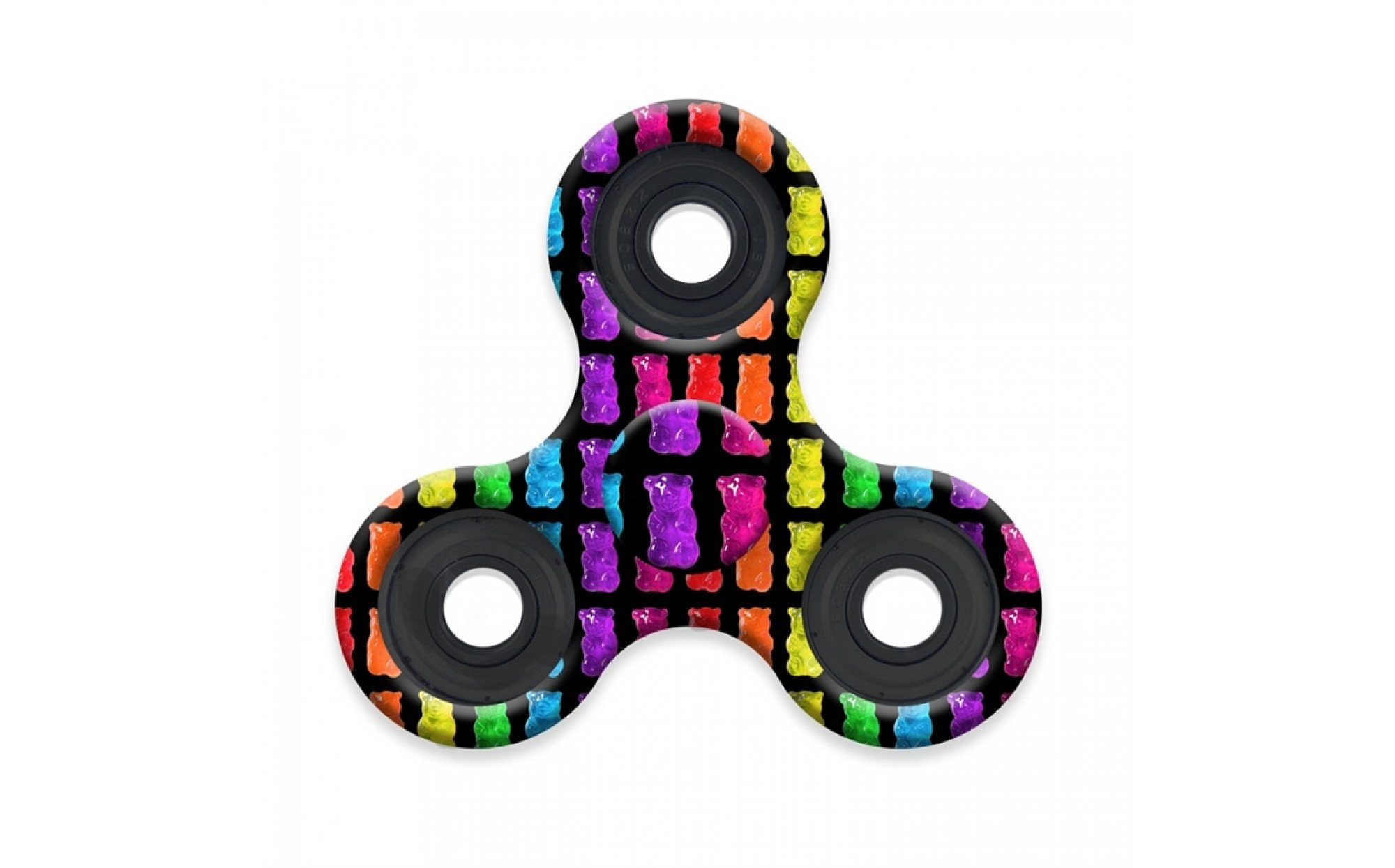 Patterned Fidget Spinner Simple Decorating