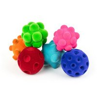 Sensory Ball Assortment: Set of 6