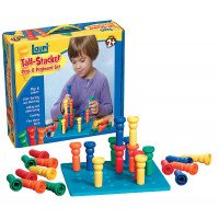 Tall Stacker Pegs and Pegboard