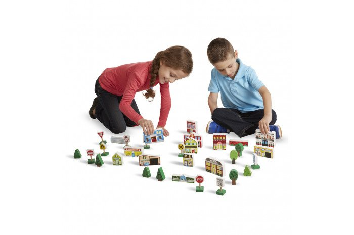 Town Play Set (32 Pcs)