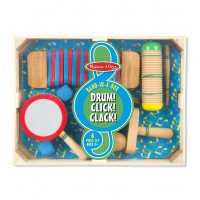 Drum! Click! Clack! (6 piece set)