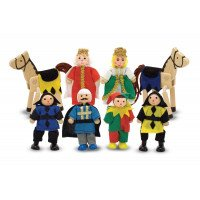 Castle Wooden Figure Set (8 Piece)