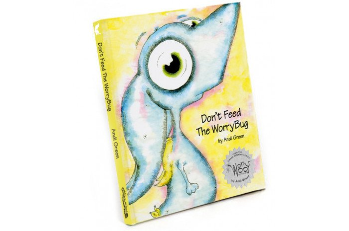 Don't Feed the WorryBug Book