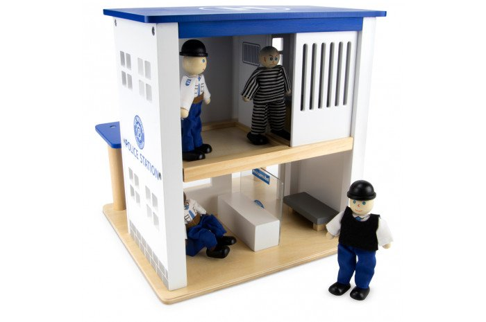 Police Station (10 Piece Set)