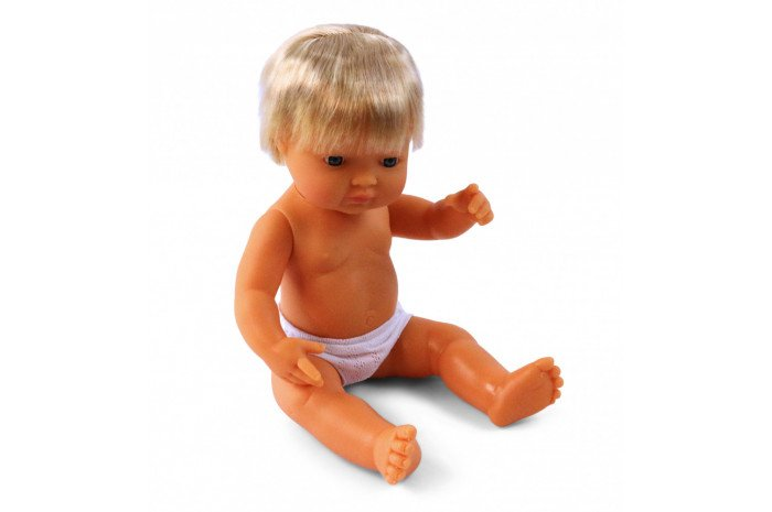 Anatomically Correct Caucasian Boy Doll