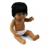 Anatomically Correct Hispanic Boy Doll