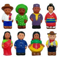 Around the World Figures (Set of 8)