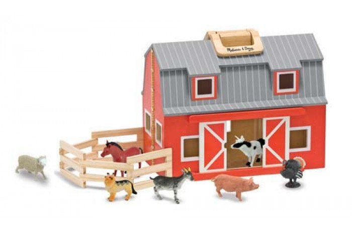 Fold and Go Barn with Accessories
