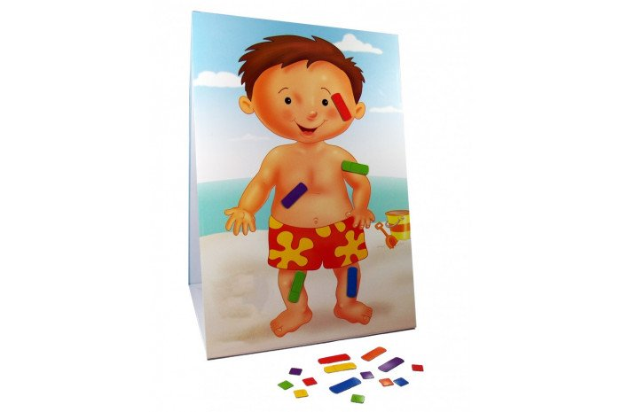 Magnetic Boy with Bandages- 21 pieces