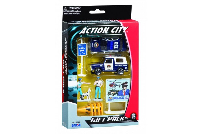 Police Department Set (10 Piece)