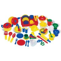 Pretend Play Kitchen Set (76 Piece)