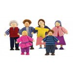 Melissa and Doug Doll Family (7 piece)