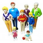 Pretend Play Family- 8 Piece Caucasian