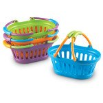 New Sprouts Plastic Baskets- Set of 4