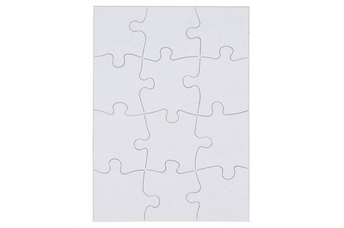 Blank Puzzles- Set of 2