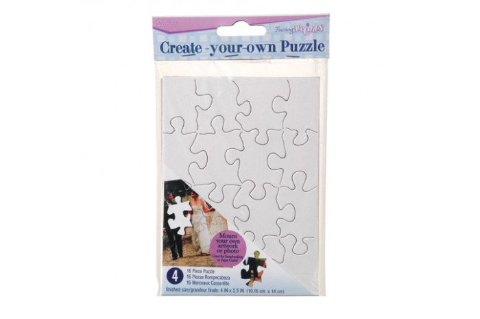 Small Color Your Own Puzzles (4 Pack)