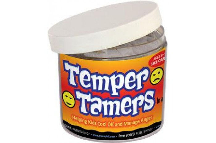 Temper Tamers - Anger Management Card Game in a Jar