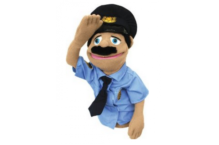Police Officer Puppet Puppets