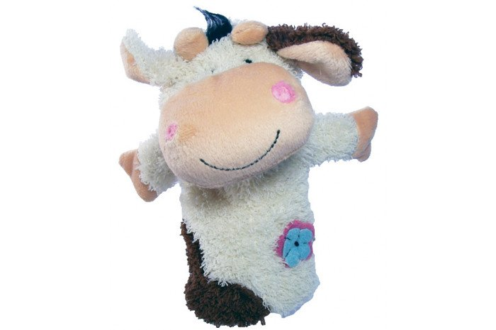 Clarrisa the Cow Hand Puppet