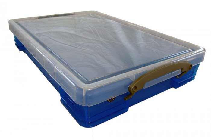 Medium Plastic Sand Tray with Lid