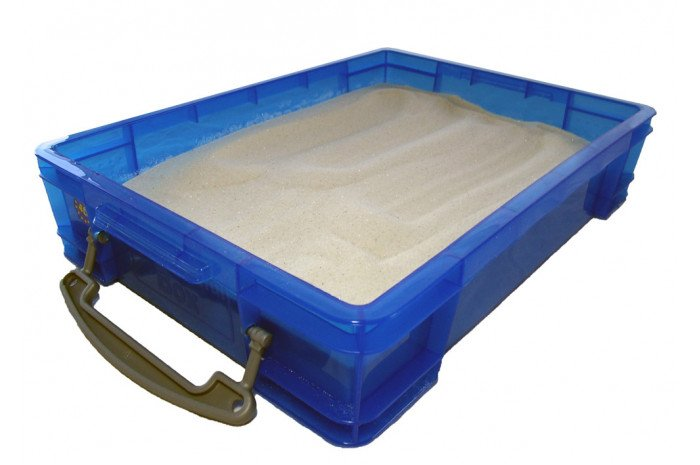 Small Portable Sand Tray with Lid