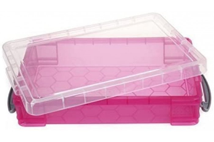 CLOSEOUT DEAL: Small Pink Sand Tray with Lid