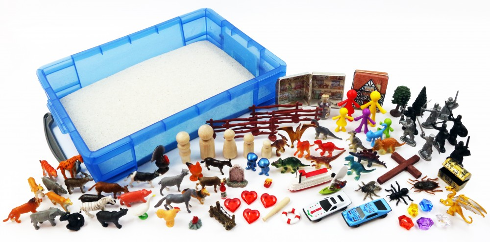 Basic Sand Tray Therapy Starter Kit