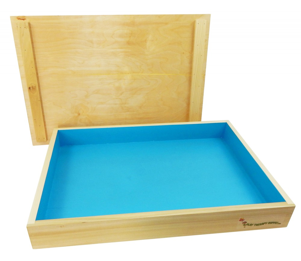Basic Wooden Sandtray with Lid