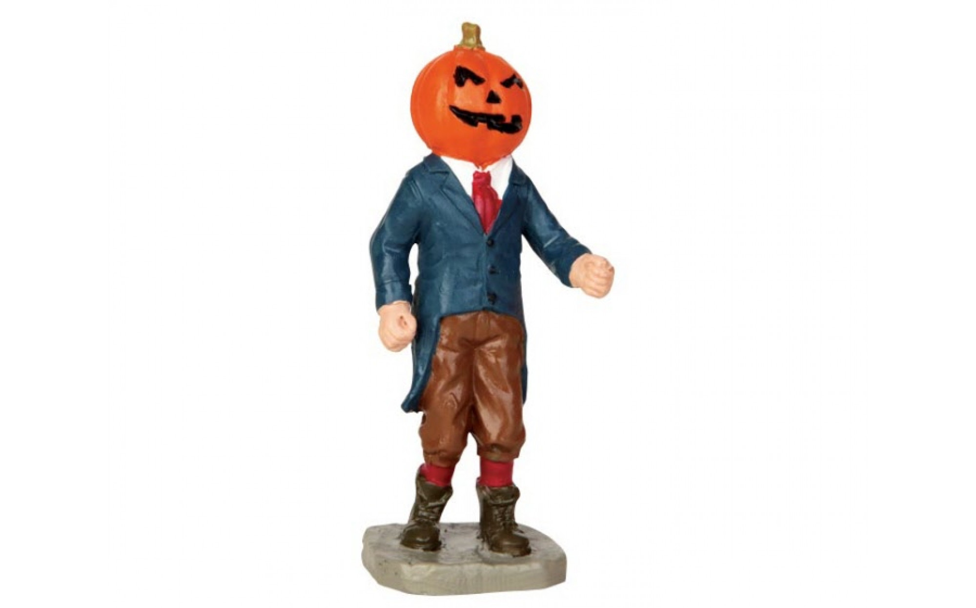 Pumpkin Head Figure – Sand Tray Therapy
