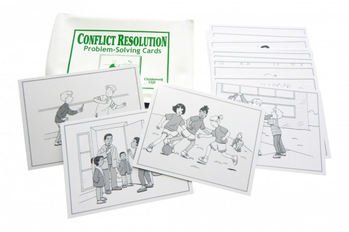 Conflict Resolution Problem Solving Cards