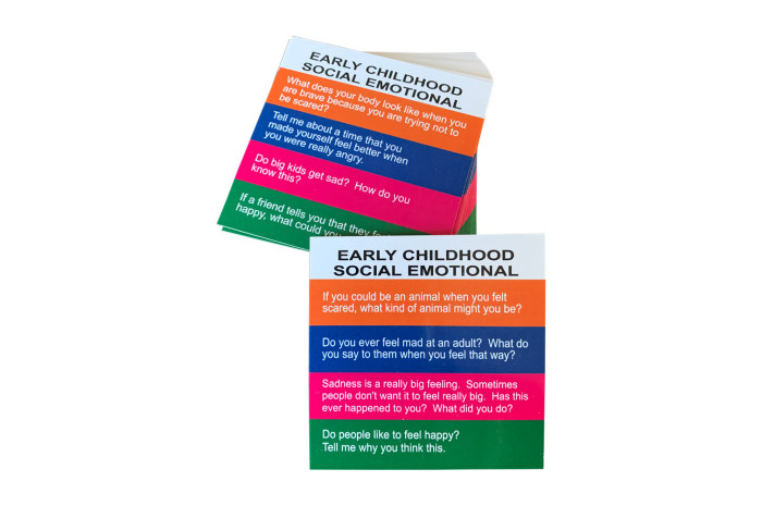 Totika Early Childhood Social Emotional Card Deck
