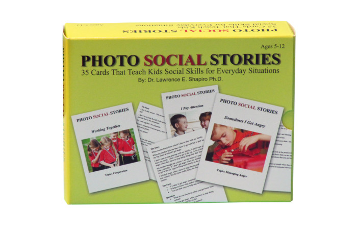 Photo Social Stories in Everyday Situations Card Game