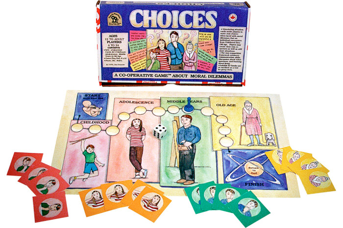 Choices: A Cooperative Game About Moral Dilemmas