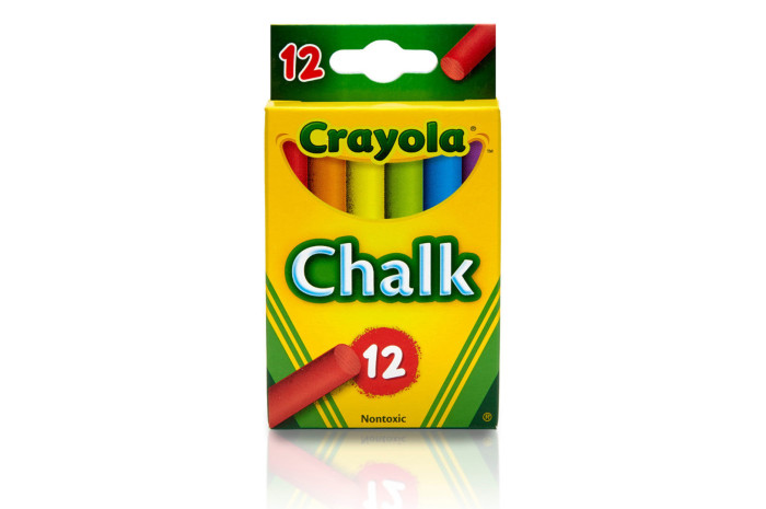 Crayola Children's Chalk - 12 ct Colored