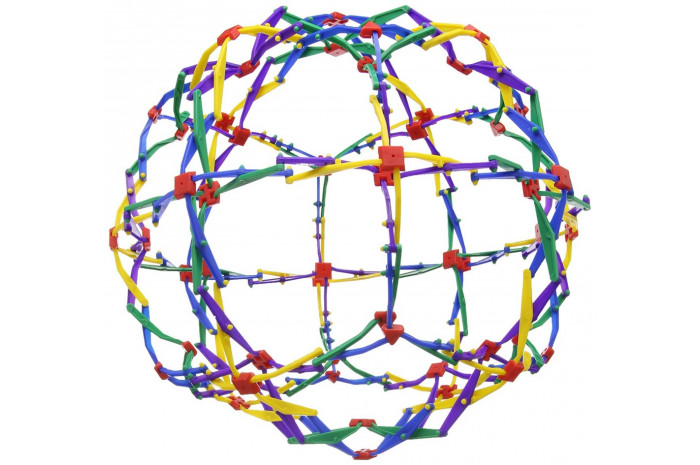Mini Hoberman Sphere Rainbow