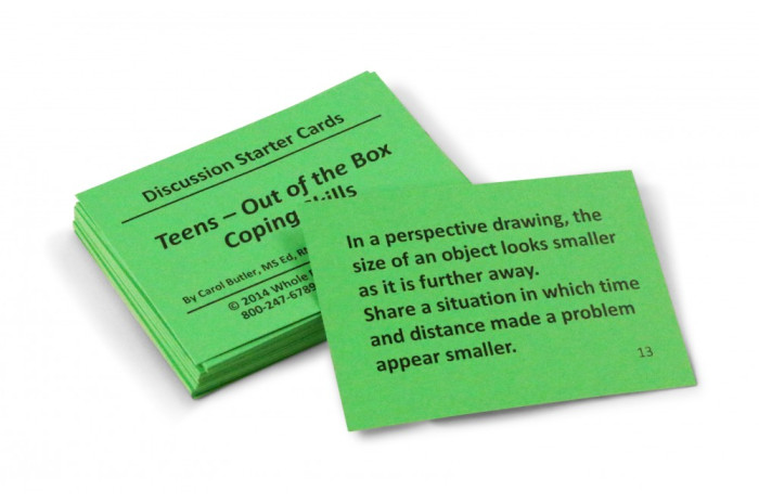 Teens Out-of-the-Box Coping Skills Card Deck