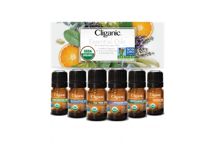 Organic Aromatherapy Essential Oils Set