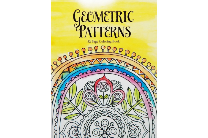 Geometric Patterns: An Adult Coloring Book
