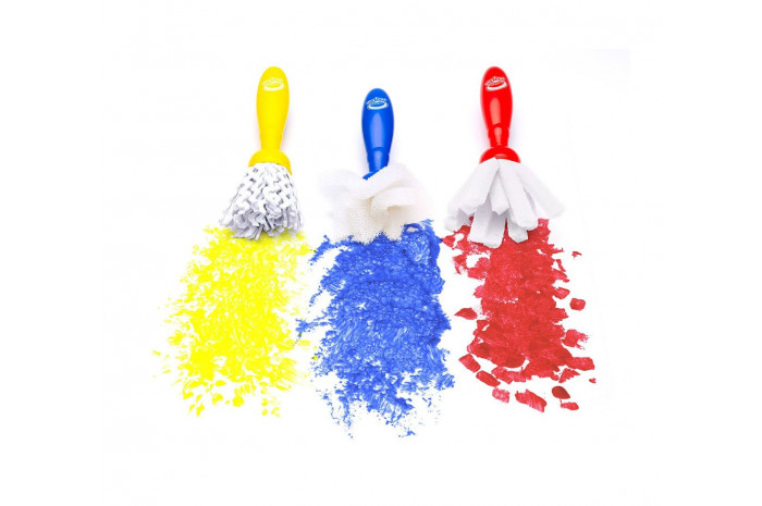 Jumbo Paint Brushes set of 3