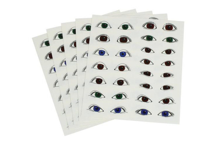 Peel and Stick Eye Stickers