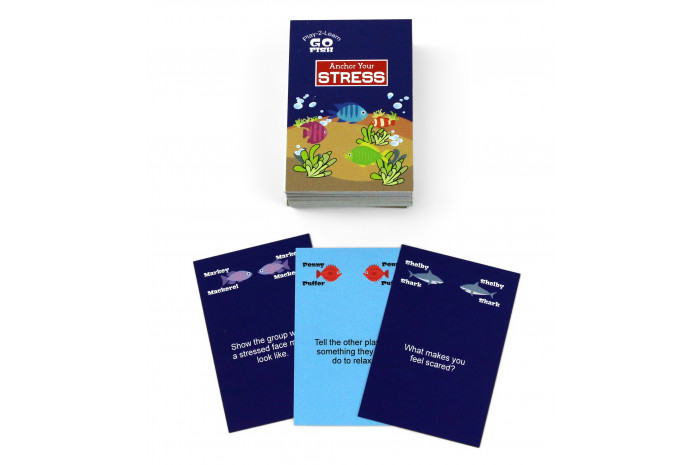Go Fish: Anchor Your Stress Card Game