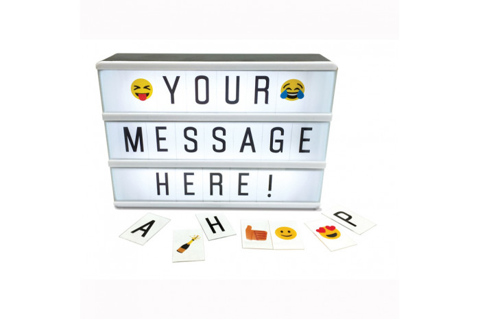 Light Up Message Marquee