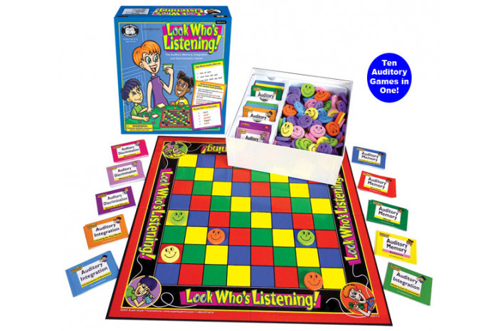 Look Who's Listening Board Game