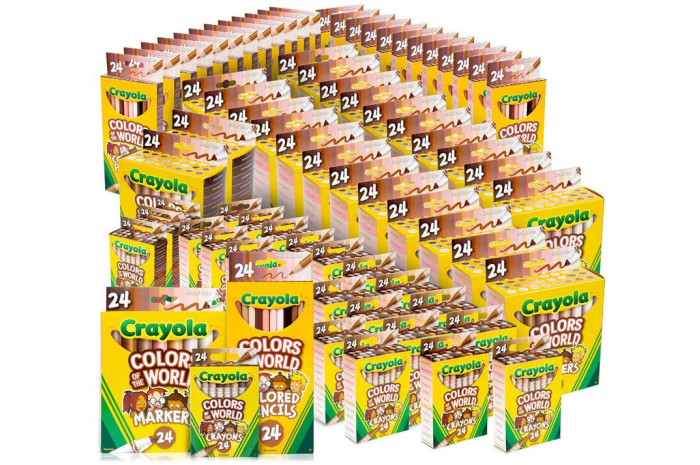 Colors of the World Classpack, 75 Boxes of 24 Count Coloring Supplies
